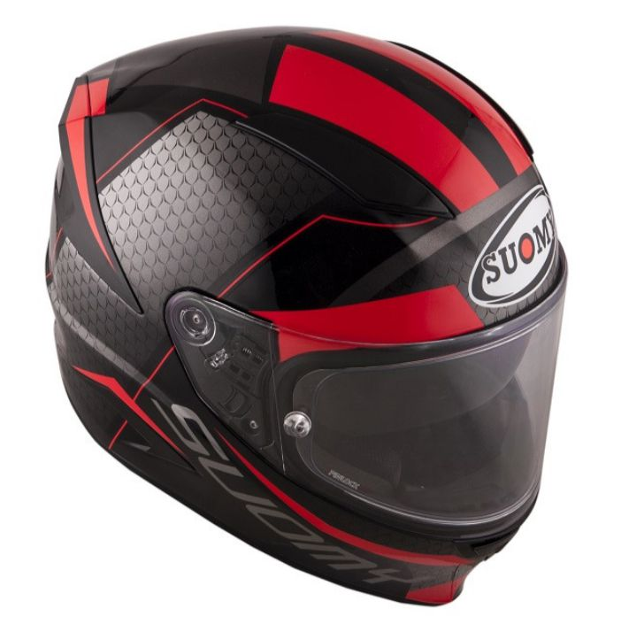 Capacete Suomy Speedstar Rap Red