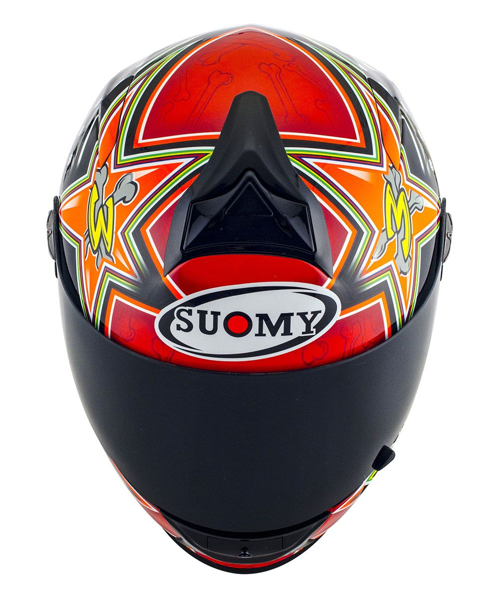 Capacete Suomy SR Sport Biaggi 2015 Replica Red
