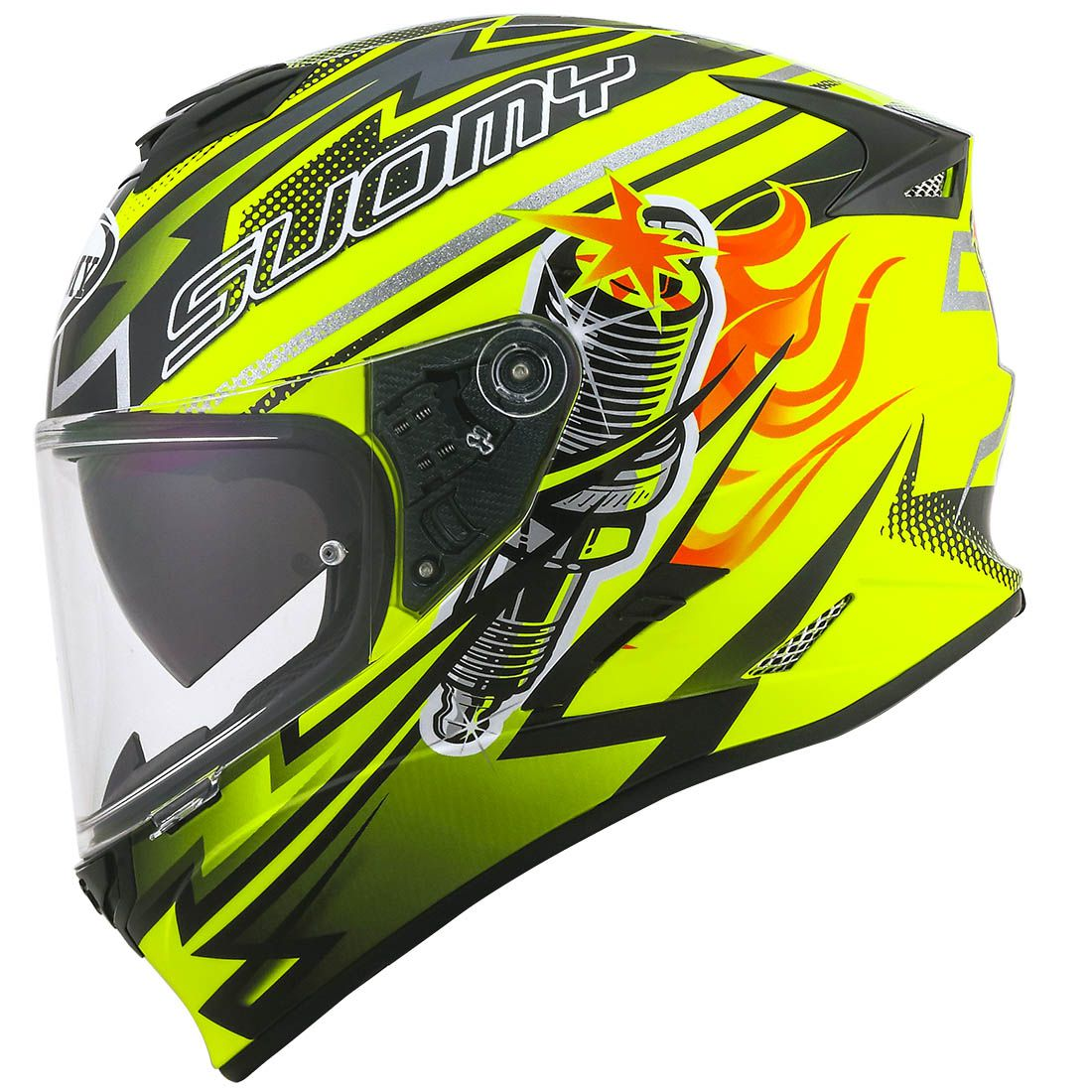 Capacete Suomy Stellar Boost Yellow