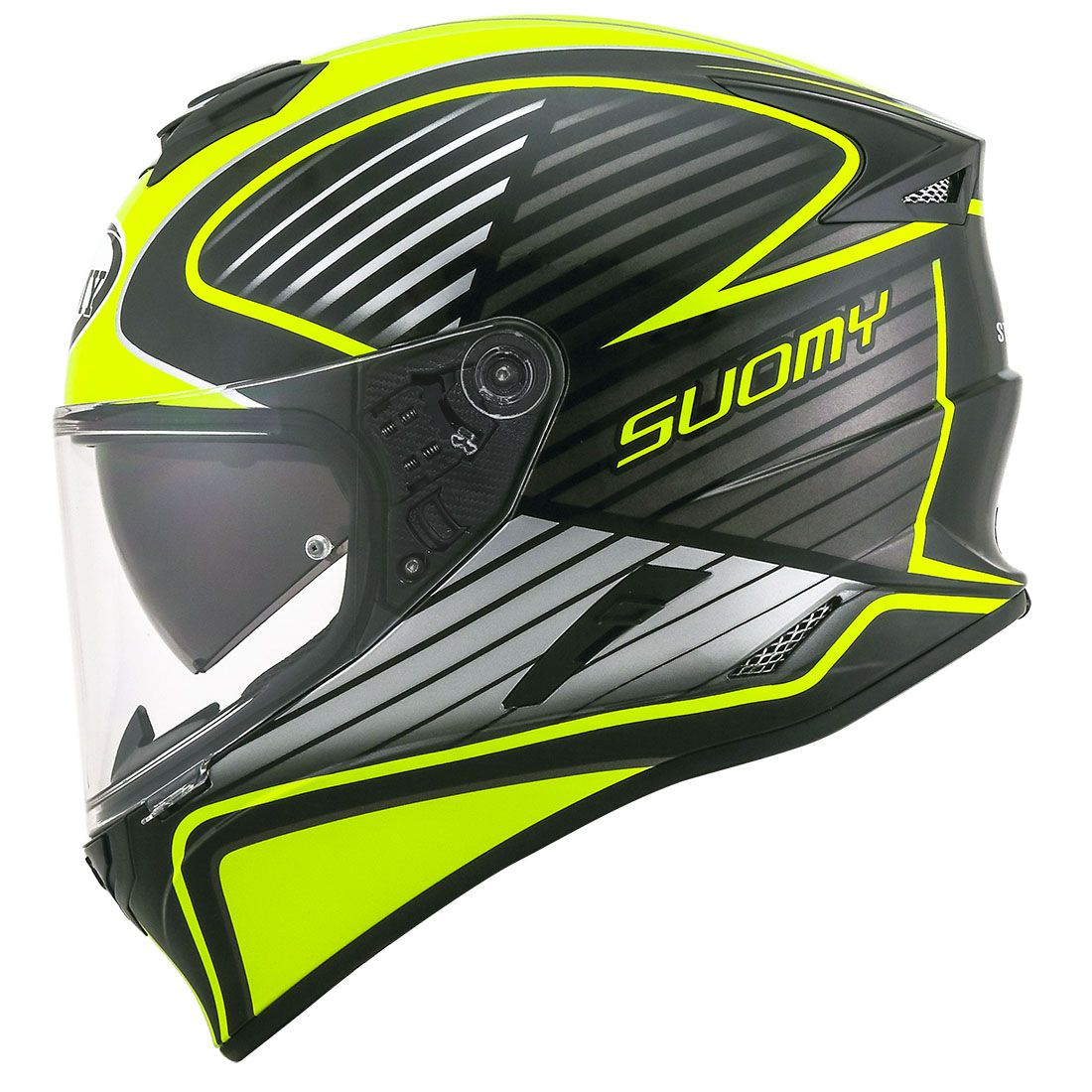 Capacete Suomy Stellar Cruiser Yellow Fluo