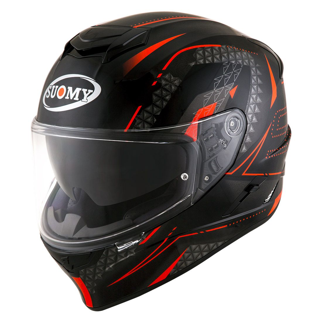 Capacete Suomy Stellar Shade Black/Red