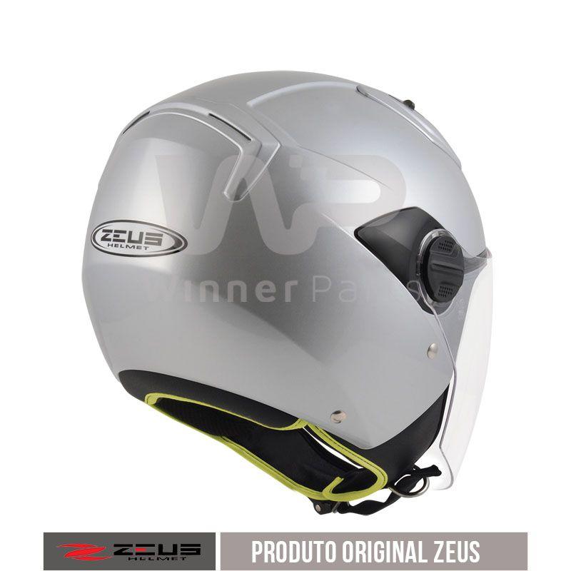 Capacete Zeus 213 Silver