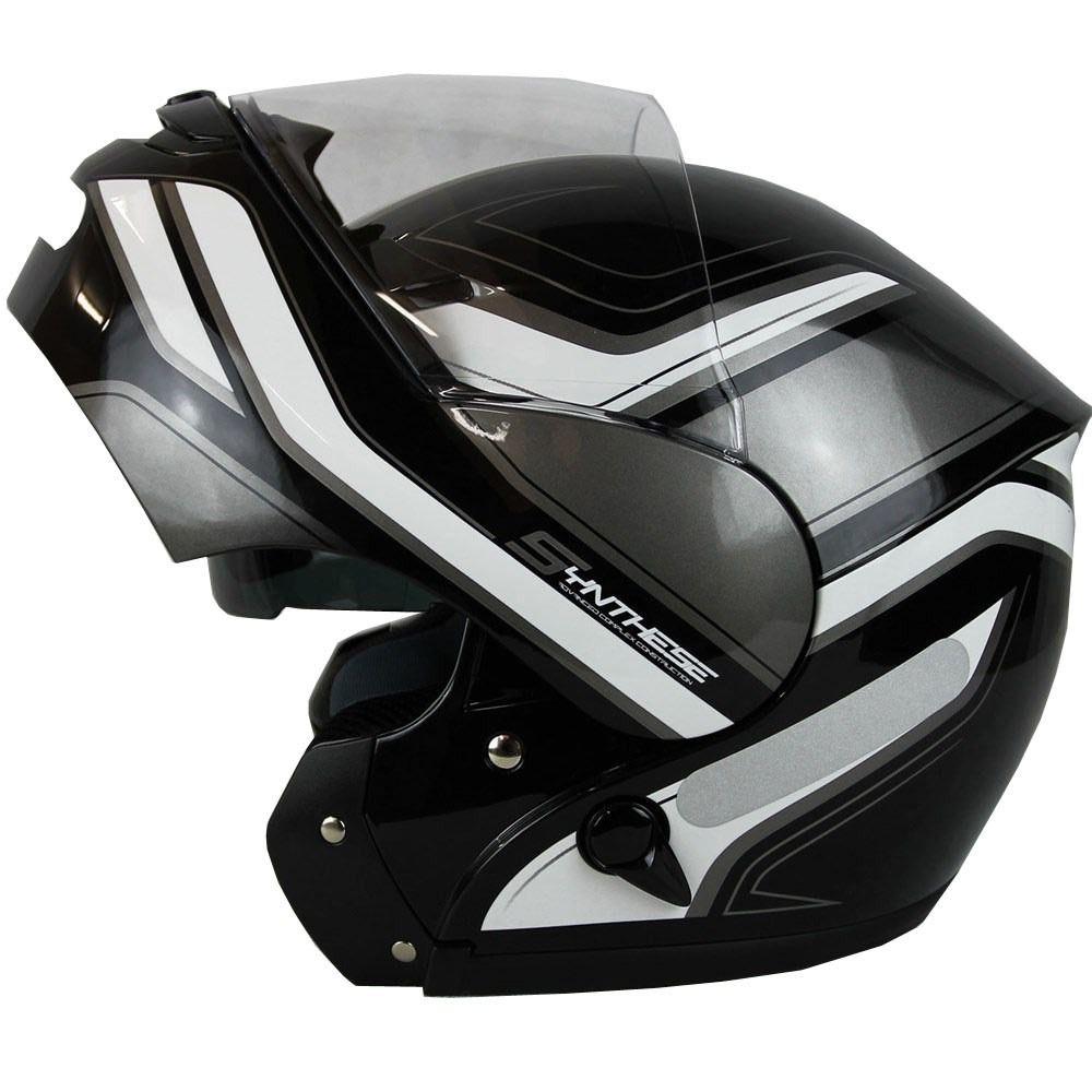 Capacete Zeus 3000A GG17 White/Black