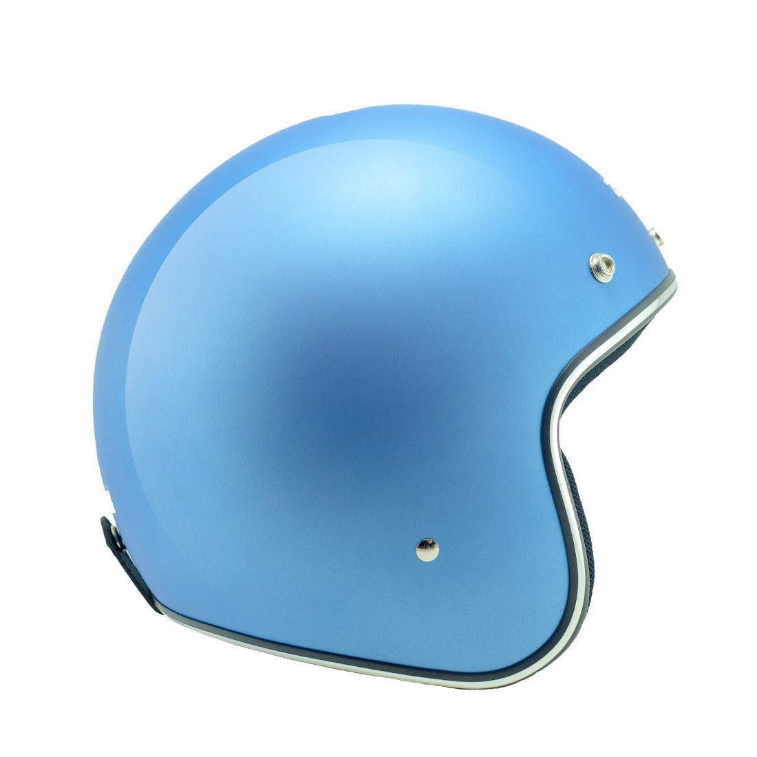 Capacete Zeus 380h Matt Metallic Blue