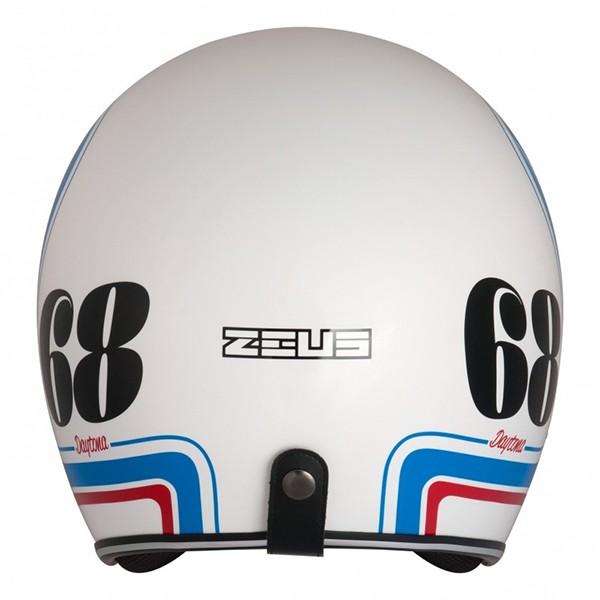 Capacete Zeus 380h Matt White/K36 Blue