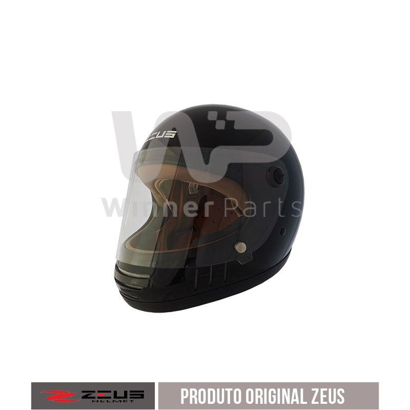 Capacete Zeus 816e Black Gloss