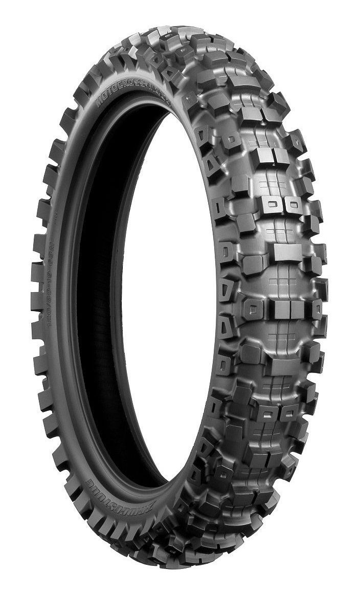Pneus Bridgestone M403 90/100 R21 e M404 100/100 R18