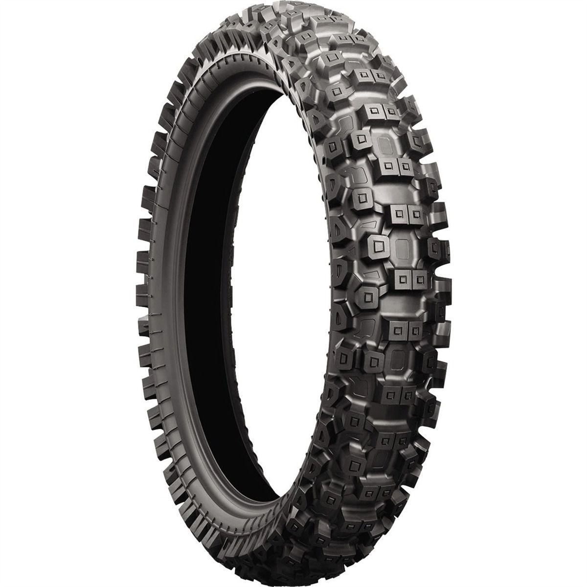 Pneus Bridgestone M403 90/100 R21 e X30 110/110 R18