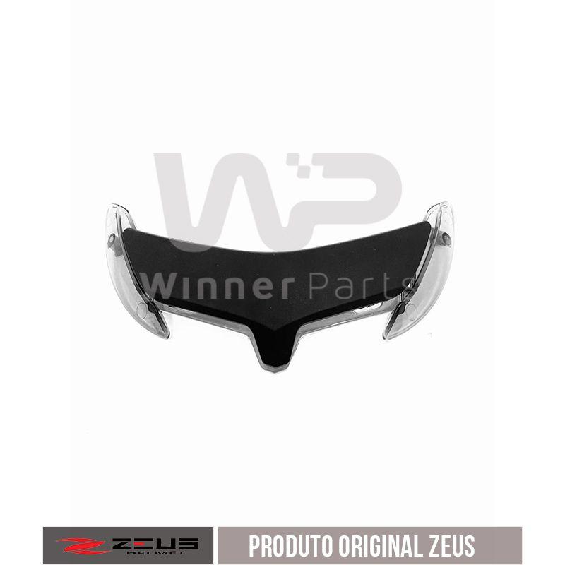 ENTRADA DE AR SUPERIOR ZEUS 202D MATT BLACK