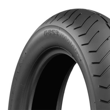 Pneu Bridgestone Exedra G853 120/70 R18