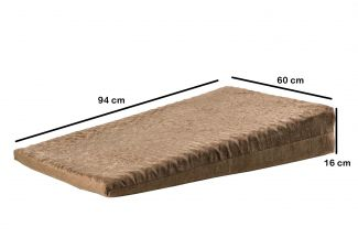 Almofada Anti Varizes Magnética 60cm x 94cm x 16cm