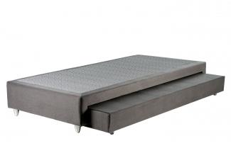 Box Base Para Colchão Com Cama Auxiliar Solteiro 0,88x1,88 Kenko Premium