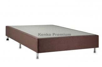Box Base Para Colchão Solteiro Suede 0,88x1,88 Kenko Premium