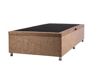 Box Bau Suede Kenko Premium Solteiro 0,88x1,88