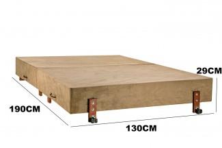 Cama Dobrável, Casal de Abrir com Colchão Embutido 130cm x 190cm Kenko Premium