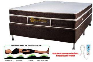 Colchão Magnético Kenko Premium, Modelo Plus Com Massagem Eletrônica Bioquãntica