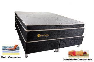 Colchão Magnético Queen Size 1,58x1,98x30 Cm Kenko Premium Gold Linha Exportação