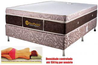 Colchão Magnético Solteiro 0,88x1,88x27 cm Kenko Premium Gold Linha Exportação