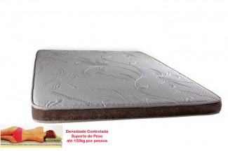 Manta Magnética Colchonete Kenko Premium Solteiro 0,88x1,88x10cm