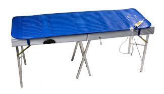 Manta Térmica, Colchonete em PVC Azul Bivolt 02 Temperaturas para Maca ou Mesa de Massagem