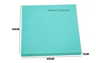 Peça de Espuma Estofado Cadeira 45cm x 45cm X 5cm D33  Kenko Premium