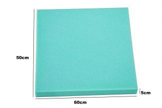 Peça de Espuma Estofado Sofá 50cm x 60cm X 5cm D28 Kenko Premium