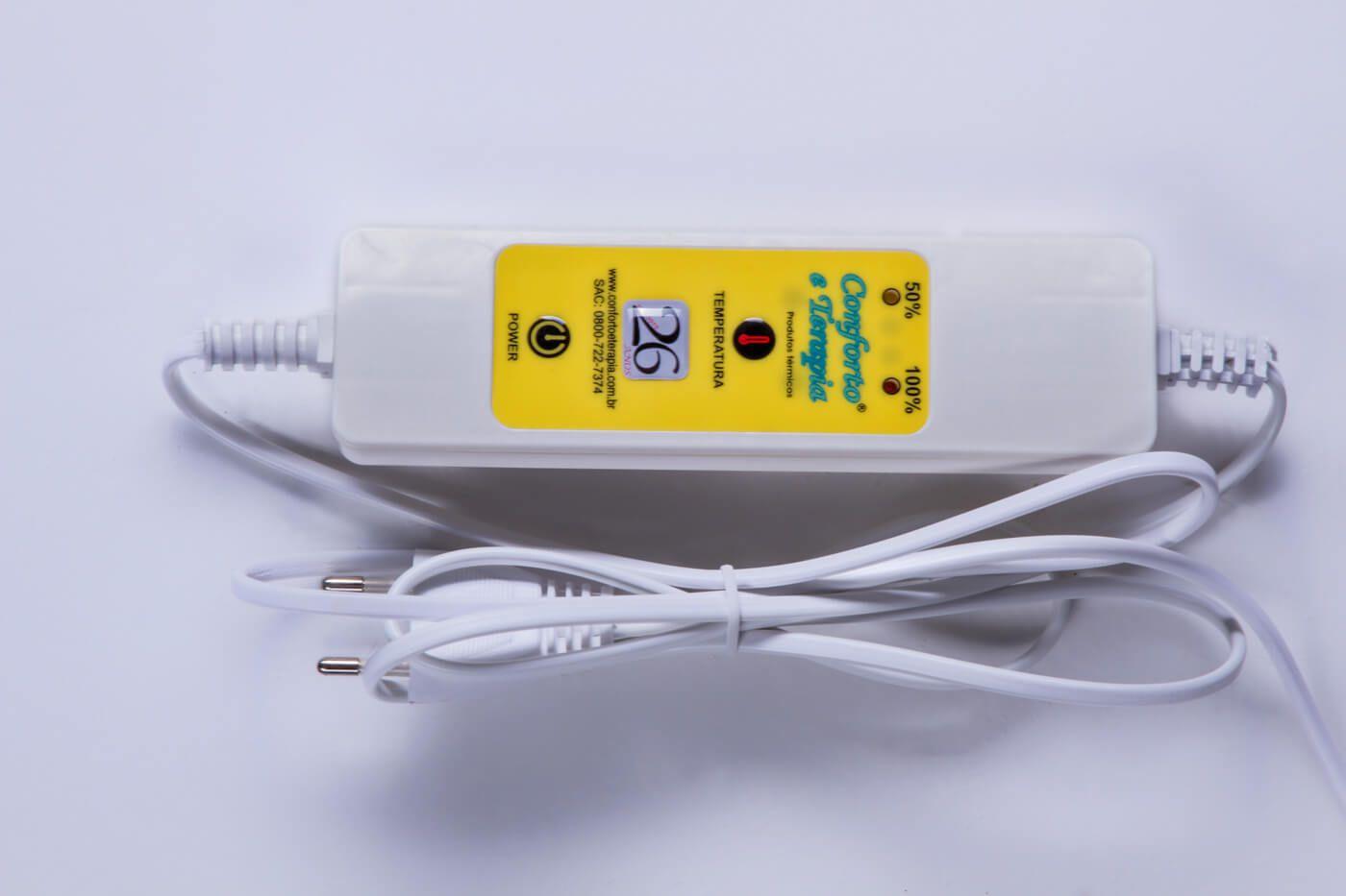 Bota (Pantufa) Térmica Bivolt 02 Temperaturas  - Kenko Premium Colchões