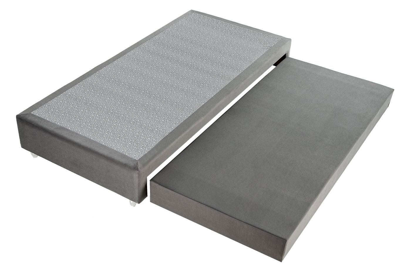 Box Base Para Colchão Com Cama Auxiliar Solteiro 0,88x1,88 Kenko Premium  - Kenko Premium Colchões