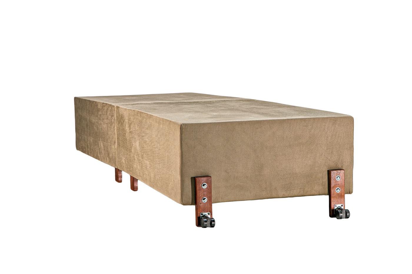 Cama Dobrável ALTA 40cm do Chão, Solteiro de Abrir com Colchão Embutido 70cm x 190cm Kenko Premium  - Kenko Premium Colchões