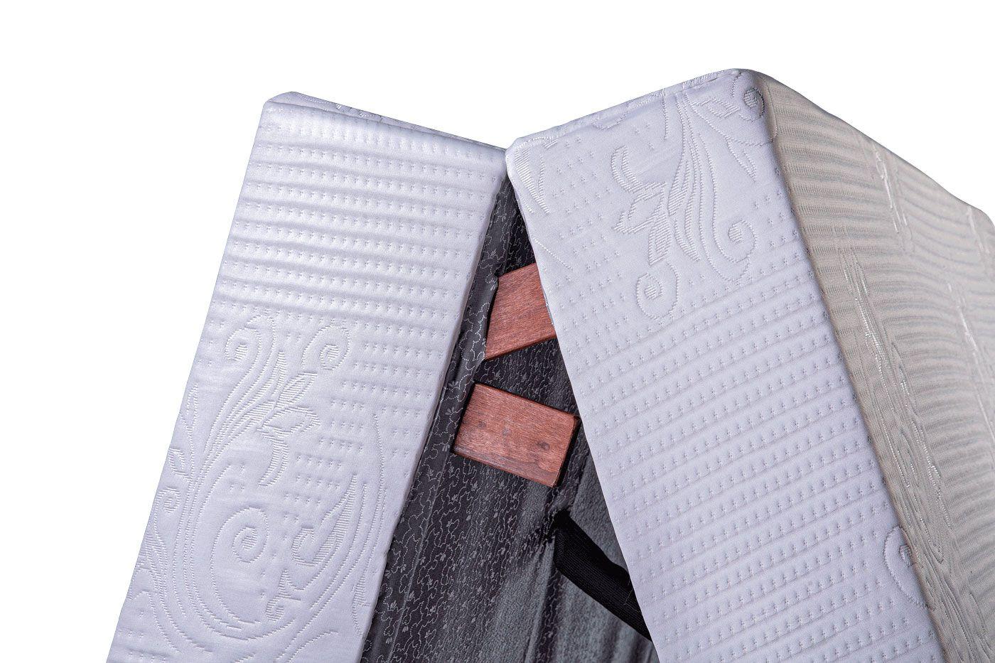 Cama Dobrável, Solteiro de Abrir com Colchão Embutido 90cm x 190cm Kenko Premium  - Kenko Premium Colchões