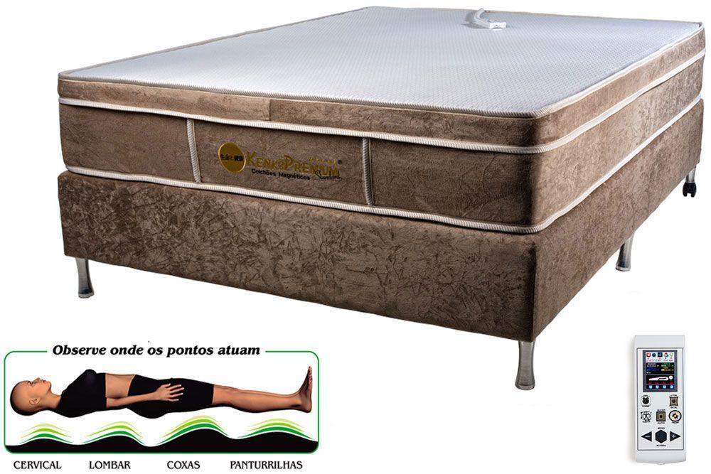 Colchão Magnético Kenko Premium, Standart Massagem Eletrônica Energia Bioquãntica  - Kenko Premium Colchões