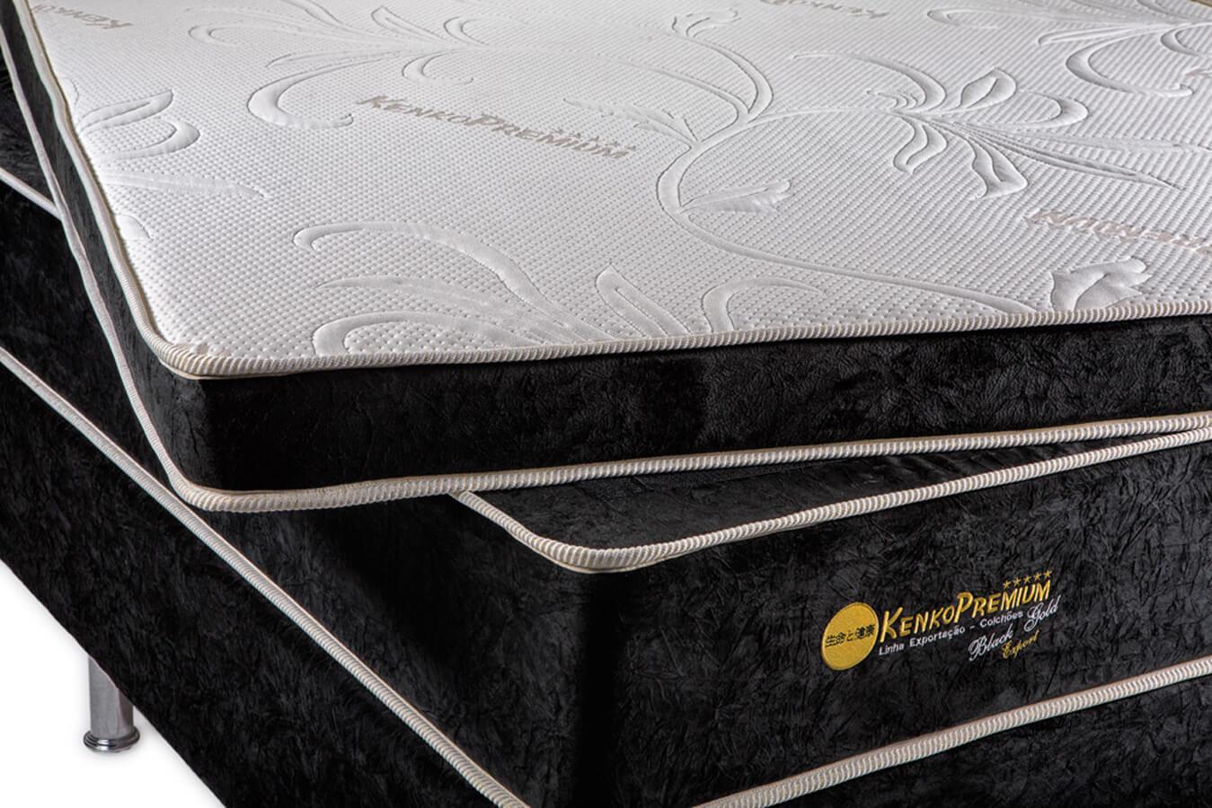 Colchão Magnético King Size 1,93x2,03x30 Cm Kenko Premium Gold Linha Exportação  - Kenko Premium Colchões