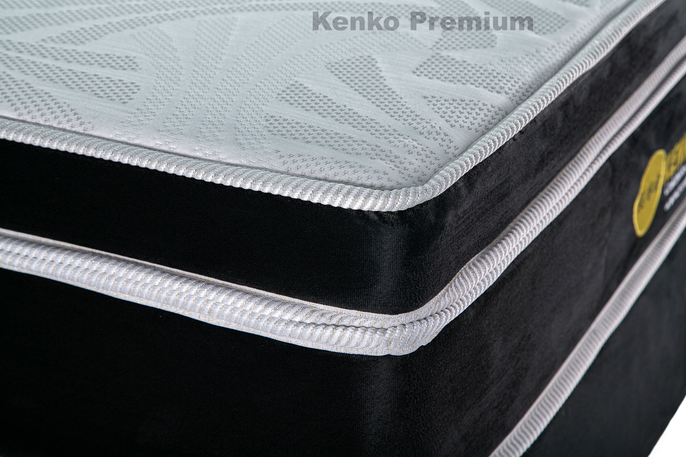 Colchão Magnético Queen Size 1,58x1,98x30 Cm Kenko Premium Gold Linha Exportação  - Kenko Premium Colchões