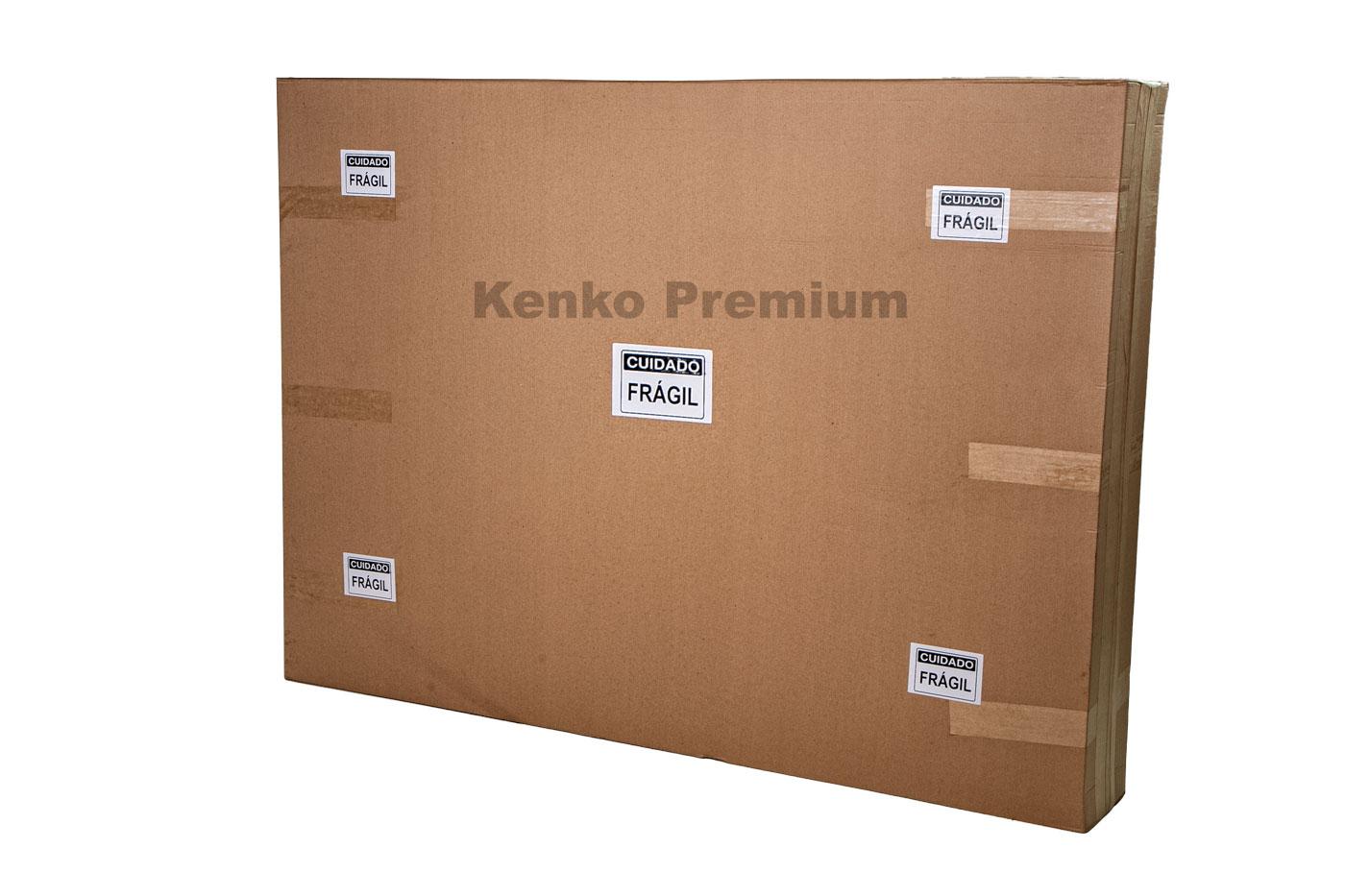 Colchão Magnético Solteiro 0,88x1,88x30cm Kenko Premium Gold C/Massageador Bioquãntico + Cromoterapia Linha Exportação  - Kenko Premium Colchões