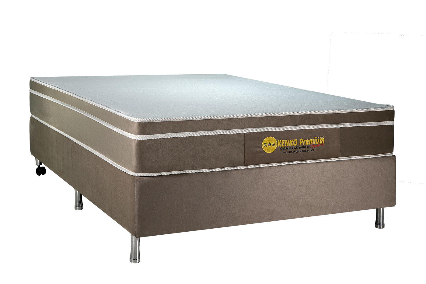 Colchão Magnético Solteiro Kenko Premium Standart 0,88x1,88x25cm  - Kenko Premium Colchões