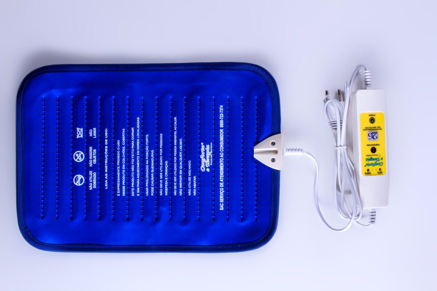 Compressa Térmica, Bolsa Térmica, Almofada Bivolt 02 Temperaturas  - Kenko Premium Colchões
