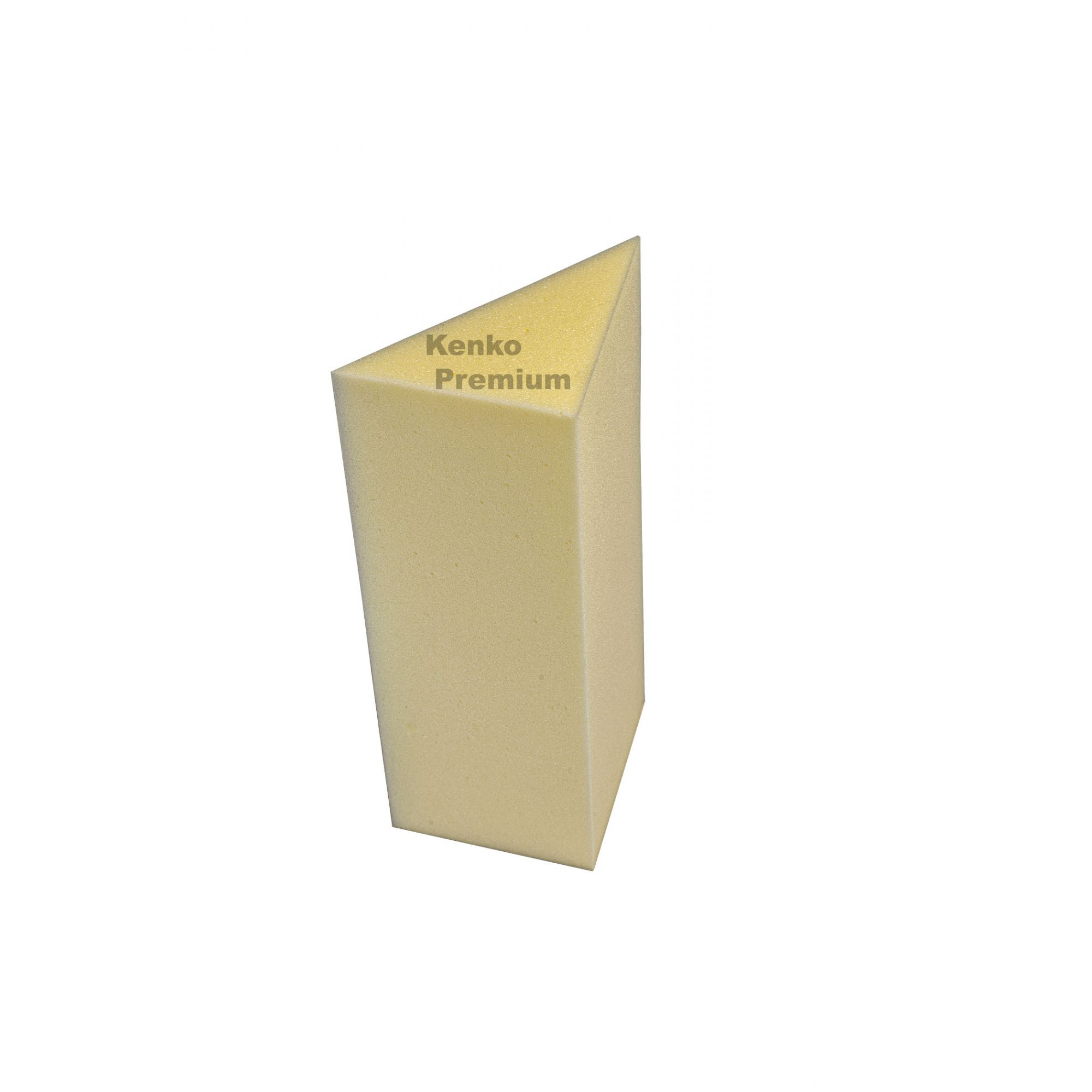 Kit Espuma 02 Unidades Acústica Bass Trapp Armadilha de Graves Absorvedor 15cm x 15cm 50cm D26 Kenko Premium  - Kenko Premium Colchões