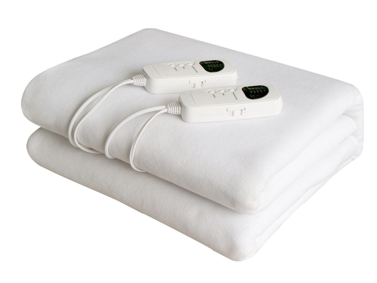 Lençol Térmico Cobertor Elétrico Kenko King Size 193x203cm Luxo Multi Temperaturas   - Kenko Premium Colchões