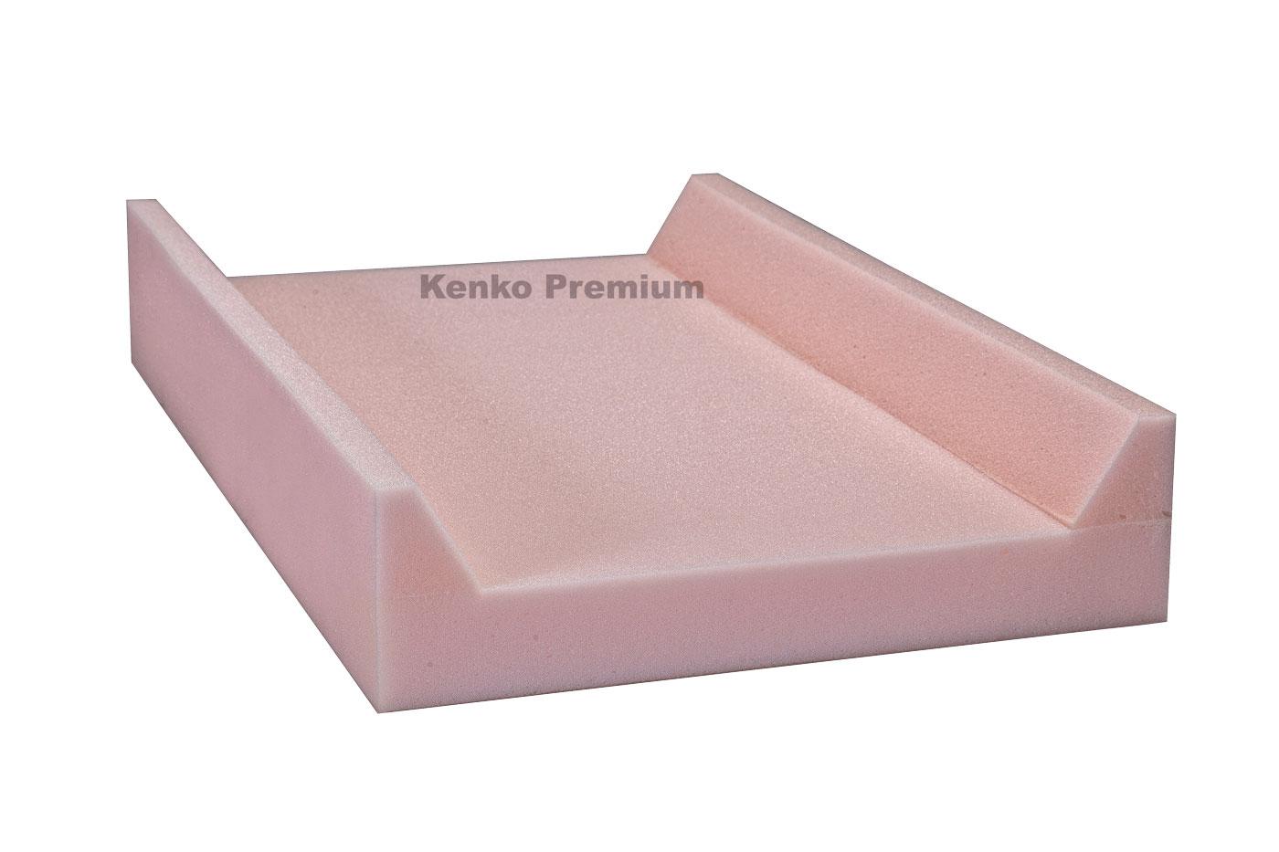 Peça De Espuma Base Trocador Americano para Bebê 70cm x 45cm x 12cm D23 Kenko Premium  - Kenko Premium Colchões