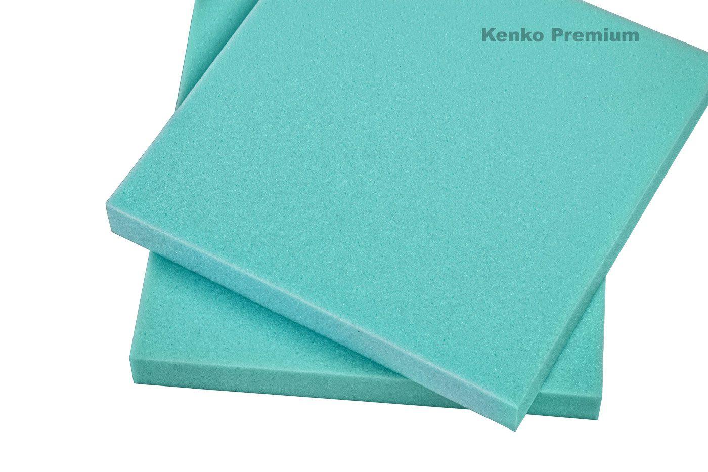 Peça de Espuma Estofado Cadeira 40cm x 40cm X 5cm D33 Kenko Premium  - Kenko Premium Colchões