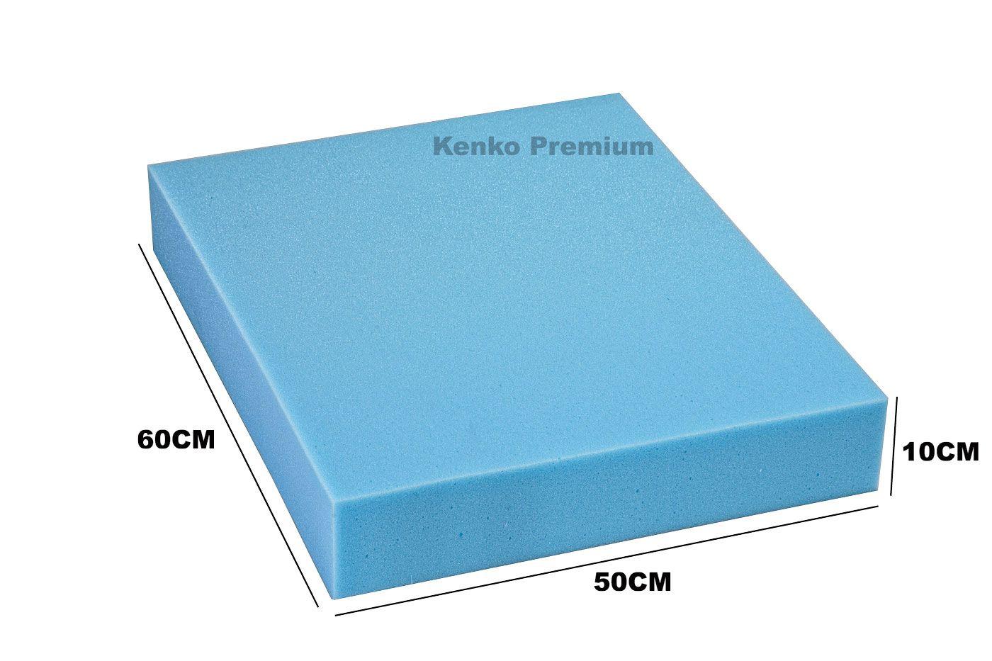 Peça de Espuma Estofado Sofá 50cm x 60cm X 10cm D28 Kenko Premium  - Kenko Premium Colchões