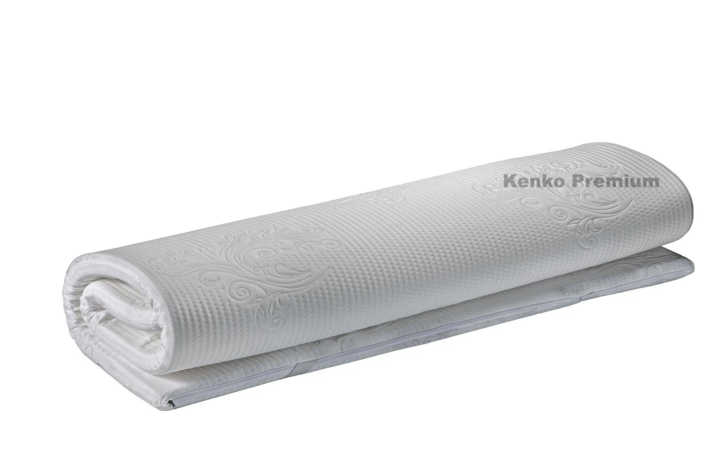 Pilow Top Hr Látex Para Colchão Kenko Premium Com Elásticos Fixação  - Kenko Premium Colchões