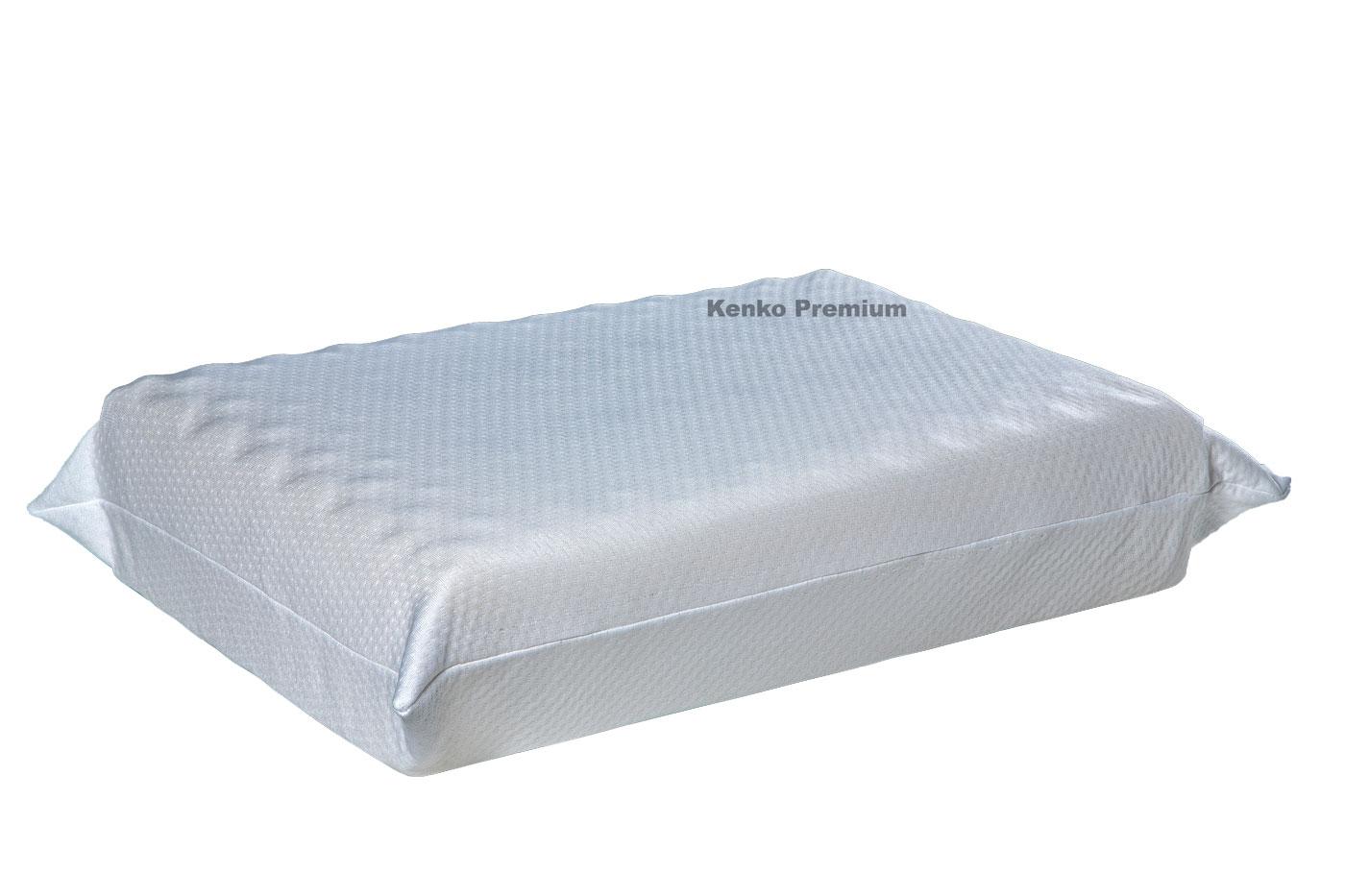 Travesseiro Magnético Kenko Premium Anatômico Camadas Ajustáveis Hr Látex One Face  - Kenko Premium Colchões