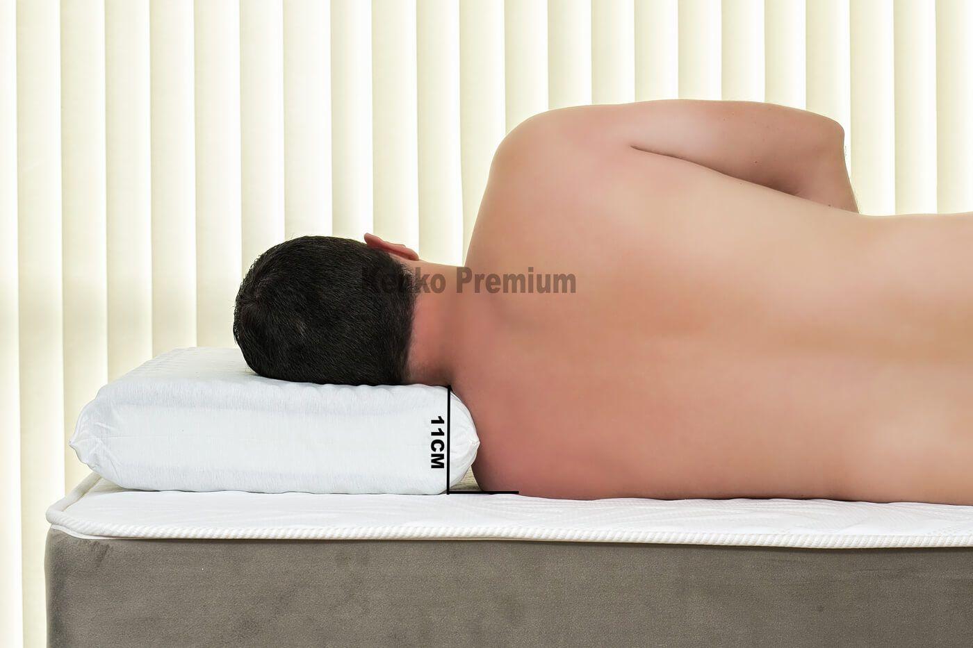Travesseiro Magnético Kenko Premium Látex HR Opções de Altura  - Kenko Premium Colchões