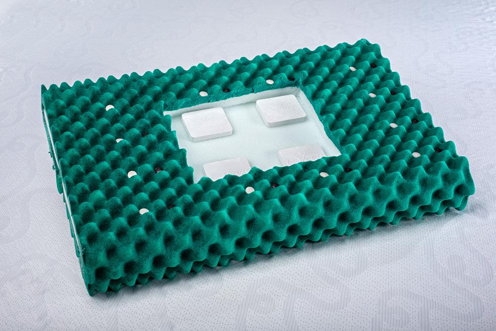 Travesseiro Magnético Luxo Reto 09cm Two Faces Kenko Premium  - Kenko Premium Colchões