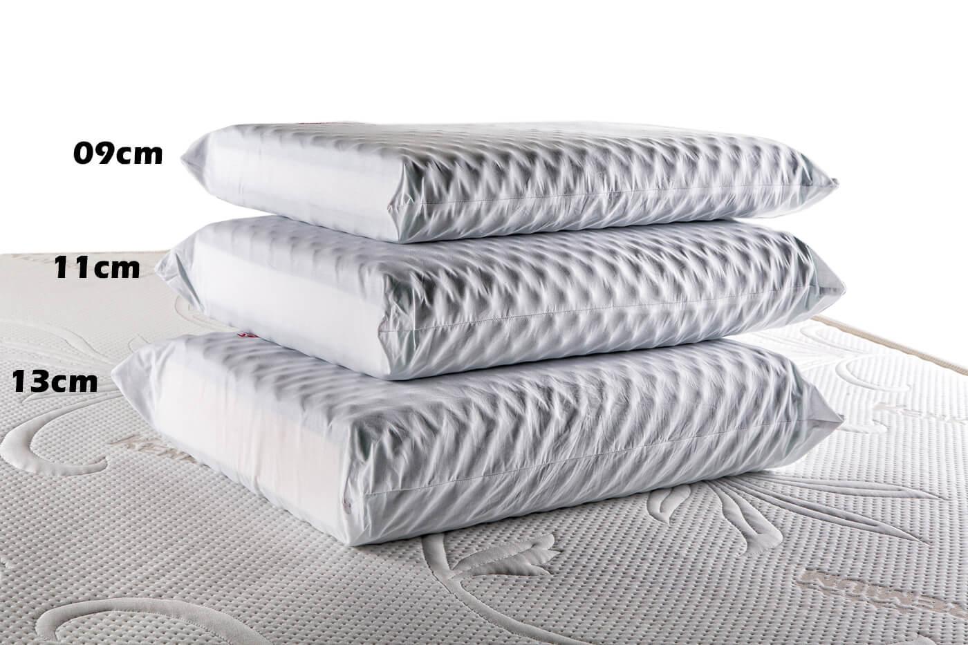 Travesseiro Magnético  Luxo Reto 13cm Two Faces Kenko Premium  - Kenko Premium Colchões