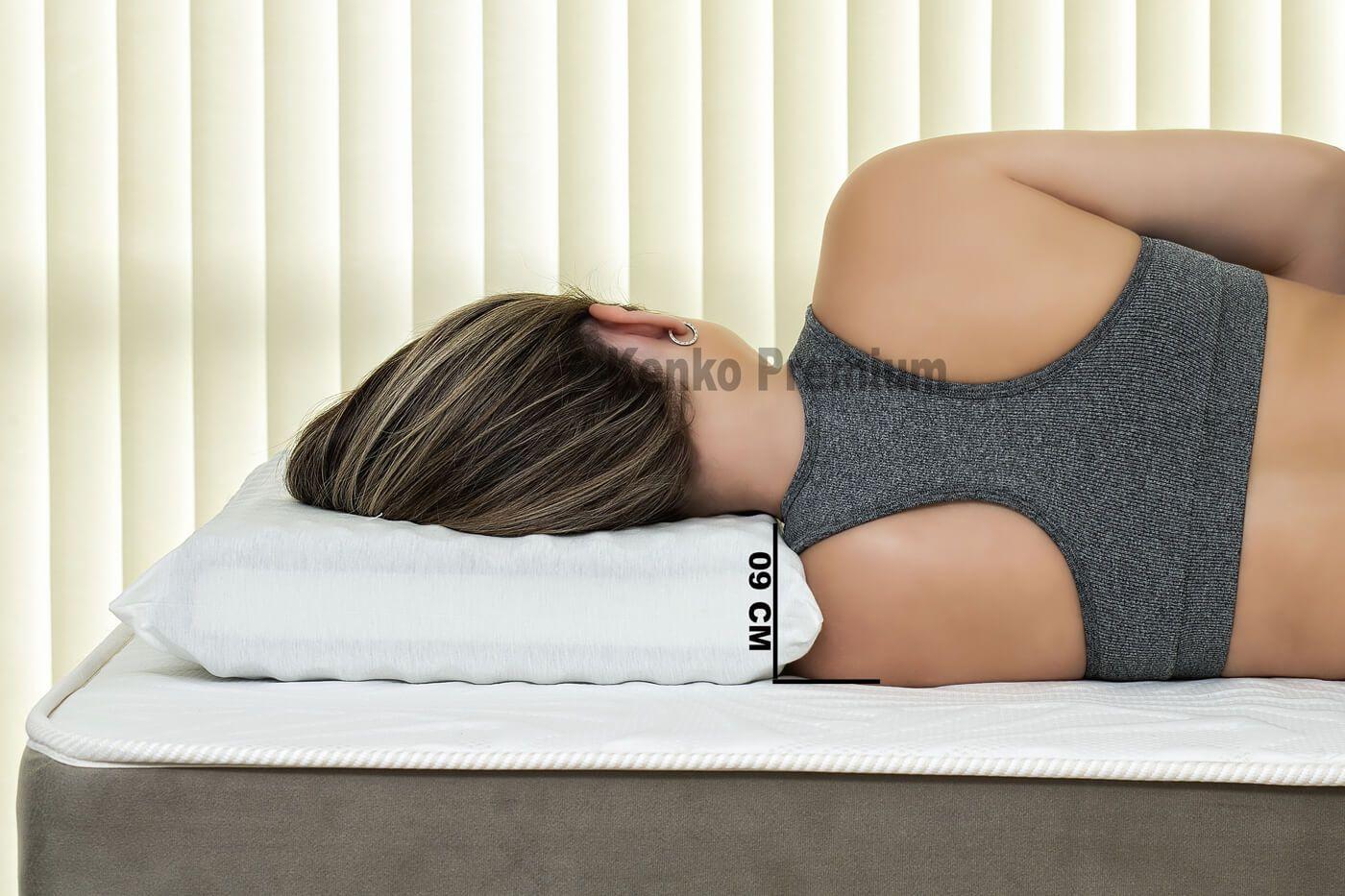 Travesseiro Magnético Standart 09cm Kenko Premium   - Kenko Premium Colchões