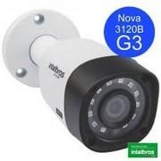 CAMERA DE SEGURANÇA INTELBRAS MULTI HD VHD 3120B 20 METROS COM INFRA VERMELHO