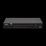 MHDX 1132 C/ HD 10TB - GRAV. DIG. DE VÍDEO 32 CANAIS - INTELBRAS MULTI-HD® SÉRIE 1000 - H.265, Nova interface gráfica, HDCVI + HDTVI + AHD + IP + ANALÓGICO com HD de 10TB instalado - PRODUÇÃO CUSTOMIZ