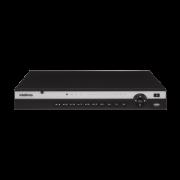 NVD 3208 P C/ HD 8TB - GRAV. DIG. DE VÍDEO EM REDE PARA ATÉ 8 CANAIS IP EM FULL HD @ 30 FPS, 4K, H.265, POSSUI 8 PORTAS POE e CAPACIDADE DE ARMAZENAMENTO PARA 1 HD - PRODUÇÃO CUSTOMIZADA COM ENTREGA E